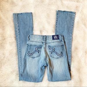 Rock & Republic rhinestone pocket bootcut jeans 2